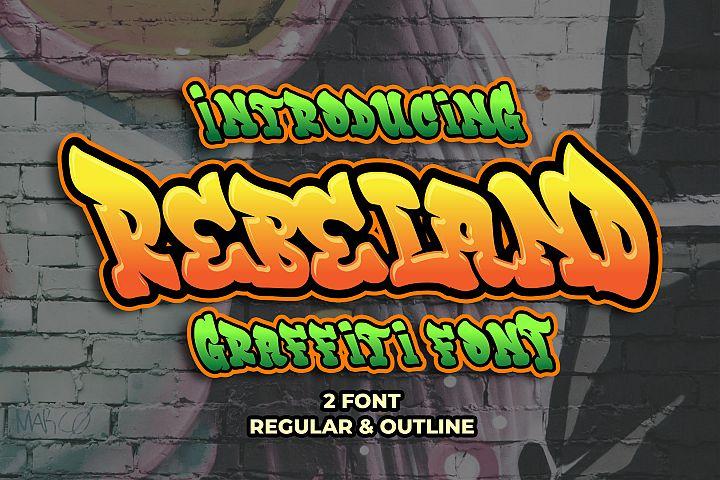 Rebeland Graffiti Font