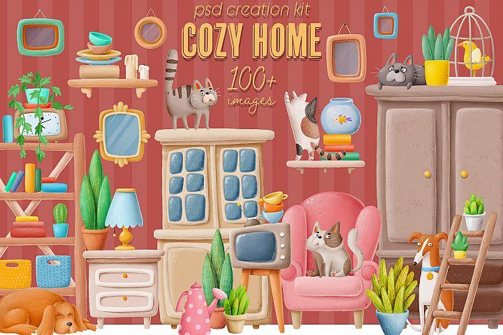 Cozy Home creation kit