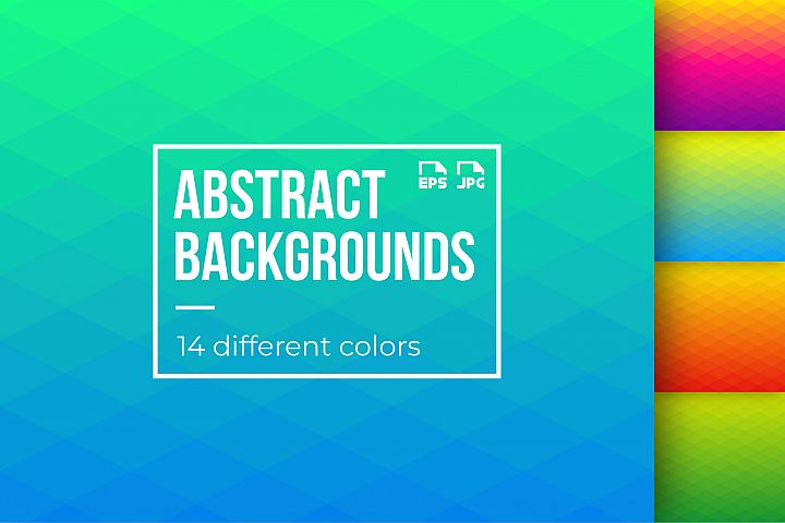 14 abstract gradient backgrounds