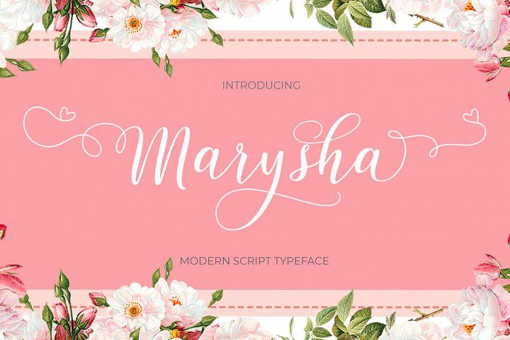 Marysha Script