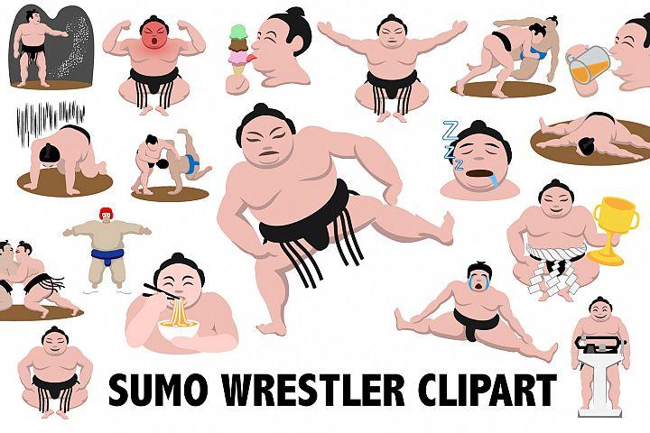 Sumo Wrestling Clipart