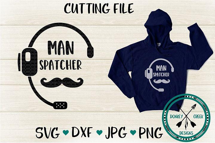 911 Dispatcher SVG Cutting File
