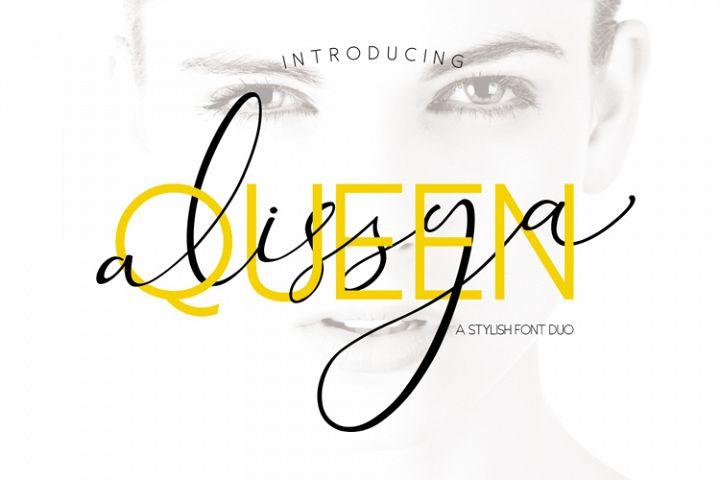 The Queen Alissya Font Duo
