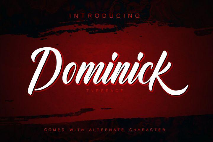 Dominick Script Font