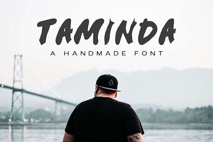 Taminda A Handmade Font