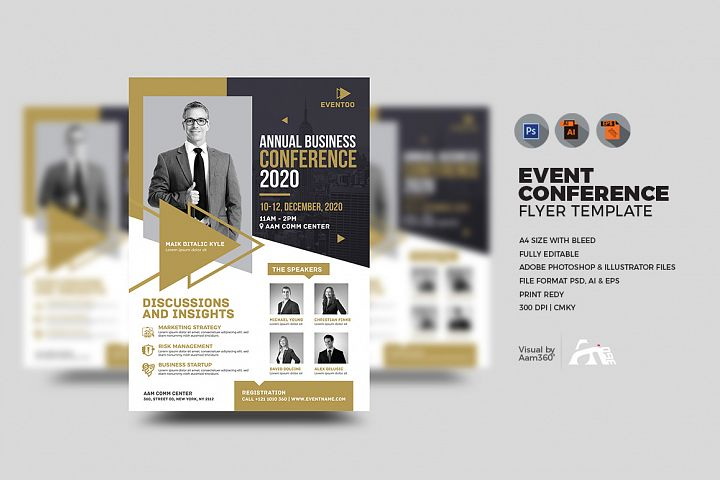 Event/Conference Flyer Template
