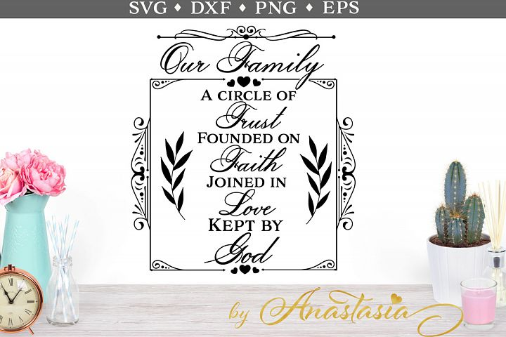 Our family SVG cut file