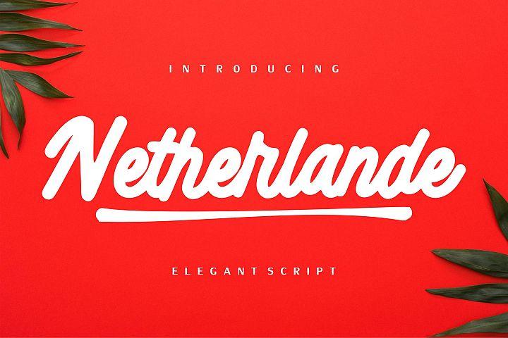 Netherlande - Elegant Script