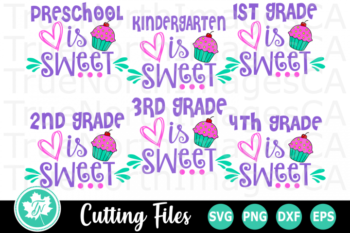 School is Sweet - A School SVG Bundle