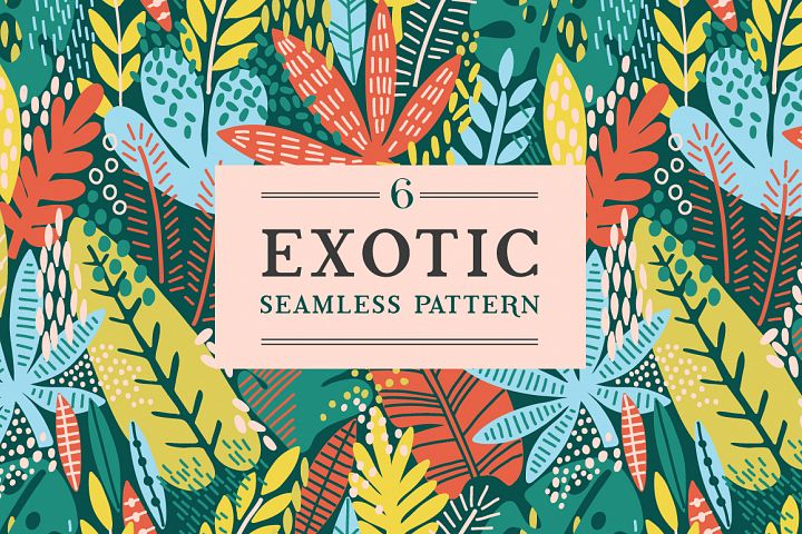 Exotic leaves patterns