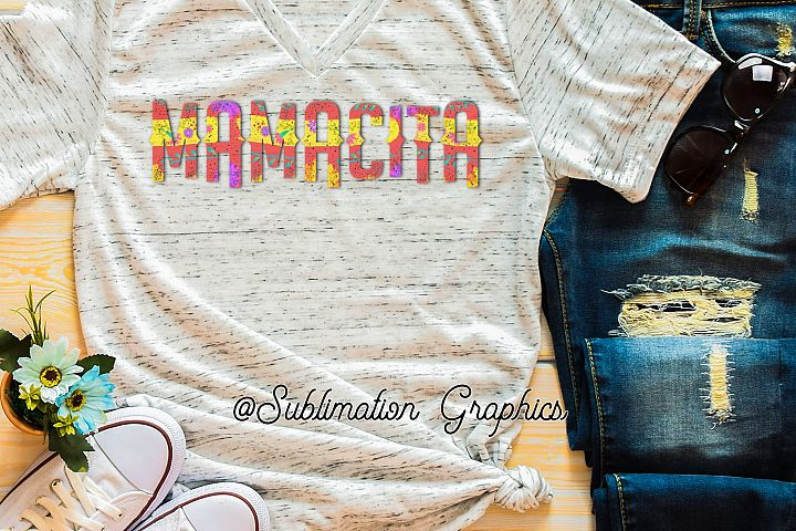Mamacita Sublimation Digital Download