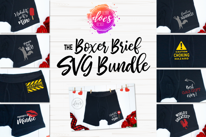 The Boxer Brief SVG Bundle