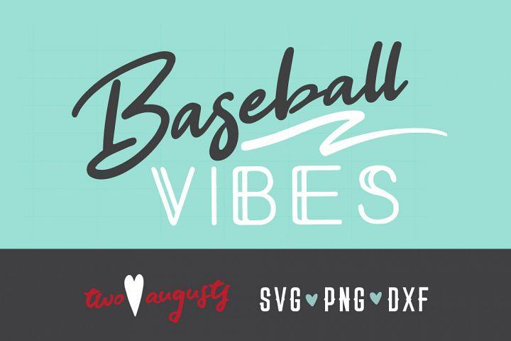Baseball Vibes, Neon, Personalize, SVG, PNG, cursive, swash