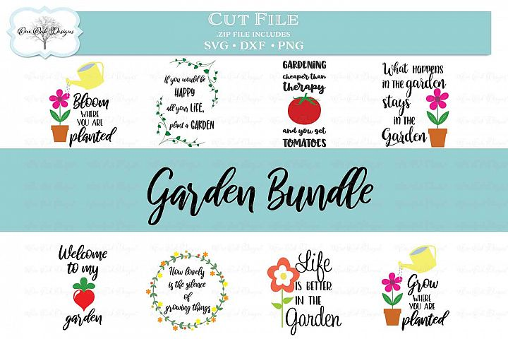 Garden Bundle - Perfect for signs or flags!