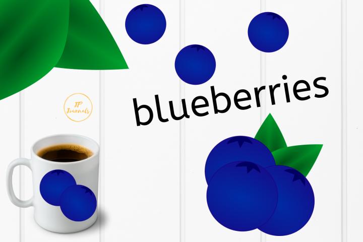 Blueberries Clip Art
