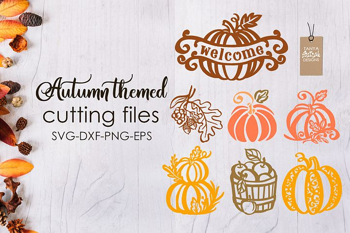 Autumn Themed Cutting Files