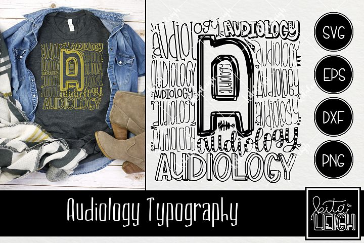 Audiology Typography