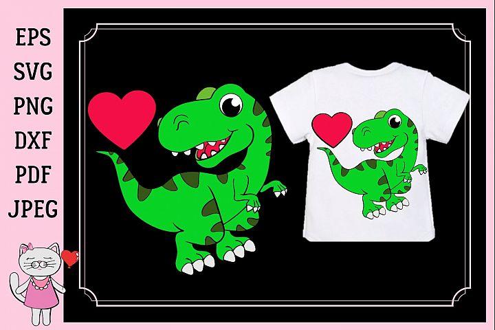 dinosaur svg, boy valentine svg, dinosaur baby boy