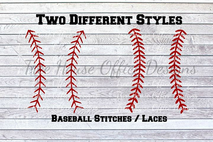 Baseball Softball Laces Baseball Stitches SVG/DXF/PNG/jpeg