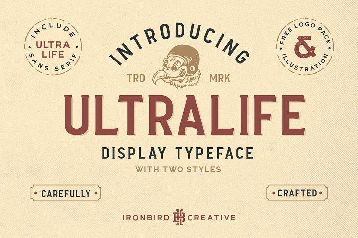 Ultralife Typeface