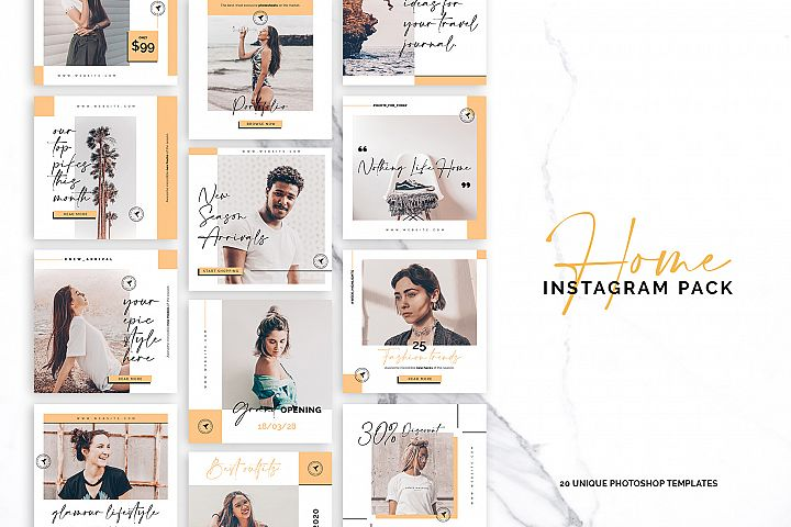 Home Instagram Pack