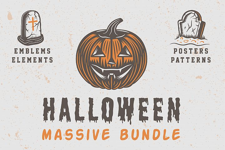 Halloween Massive Bundle