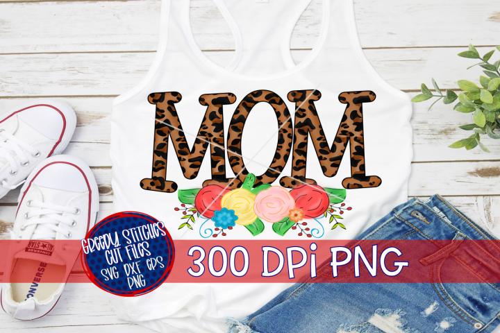 Mom PNG for Sublimation