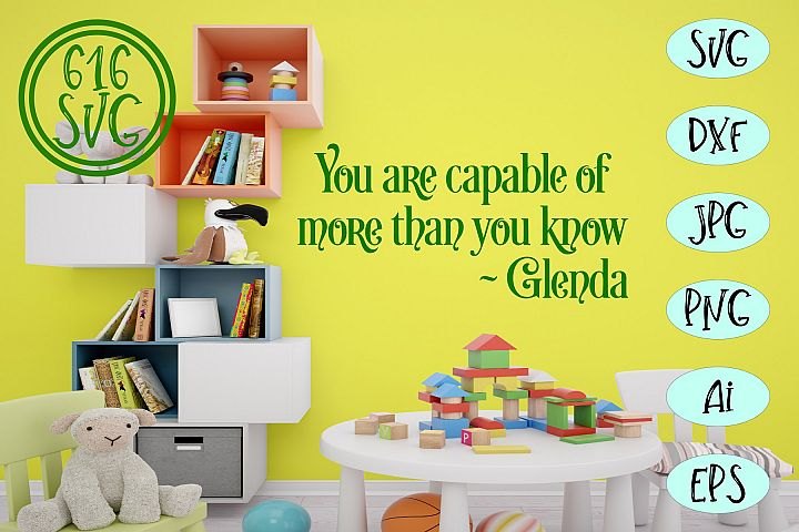 You are capable of more than you know SVG, DXF, Ai, PNG
