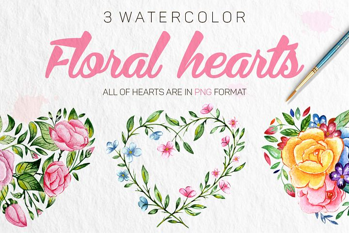 Romantic Flowers example 2