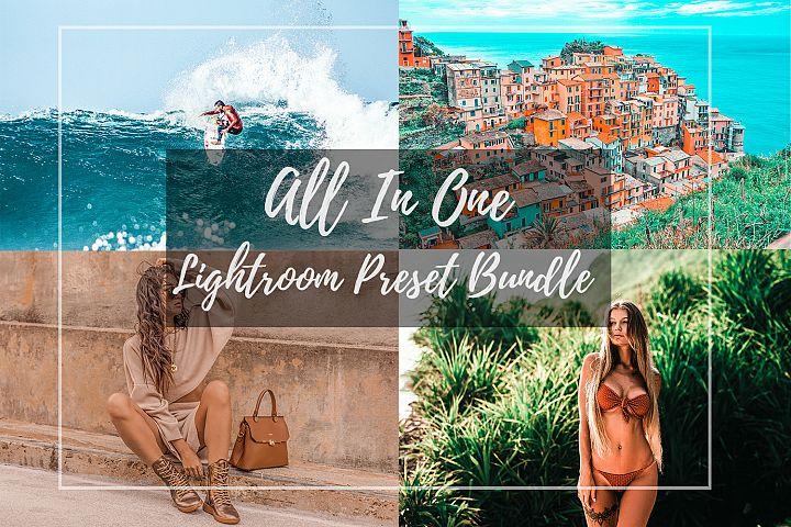 Lightroom Preset Bundle All In One with over 80 Presets