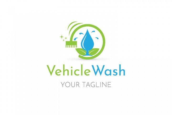 Water Drop, Brush Logo Design