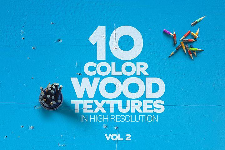 Color Wood Textures Vol 2 x10