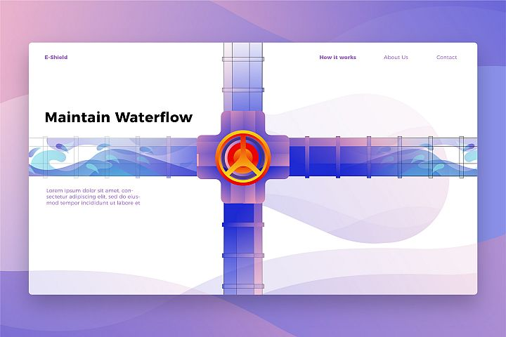 Maintenance Waterflow - Banner & Landing Page