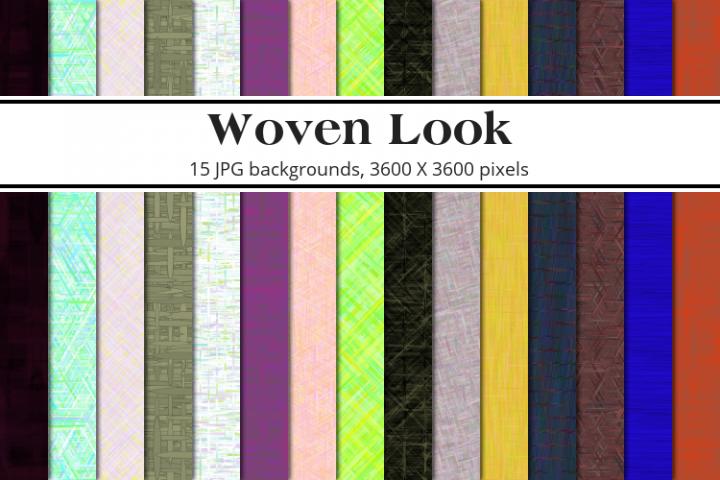 Woven Look Background Pack