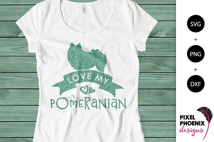 Love My Pomeranian SVG