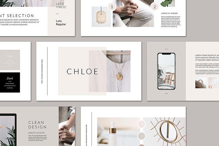 CHLOE Keynote Brand Guidelines