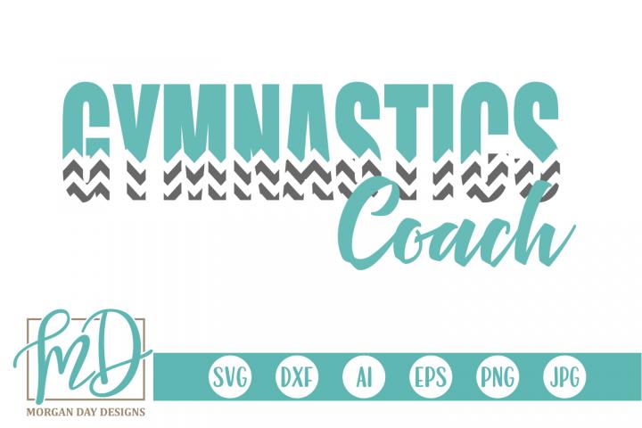 Gymnastics - Gymnast - Gymnastics Coach SVG