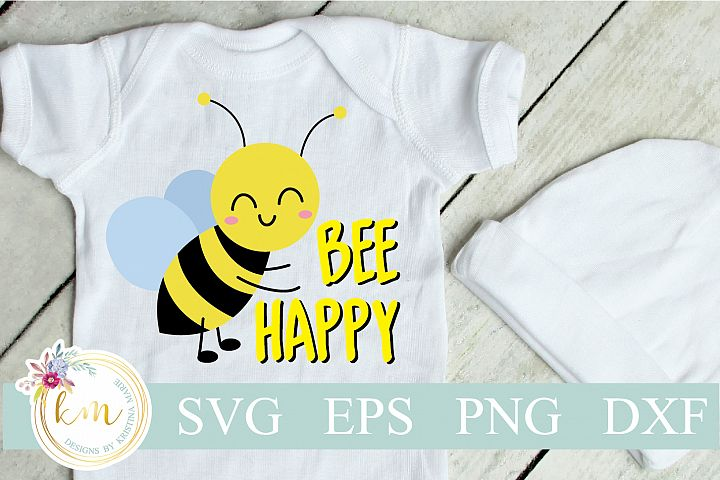 Bee Happy Cut File Set