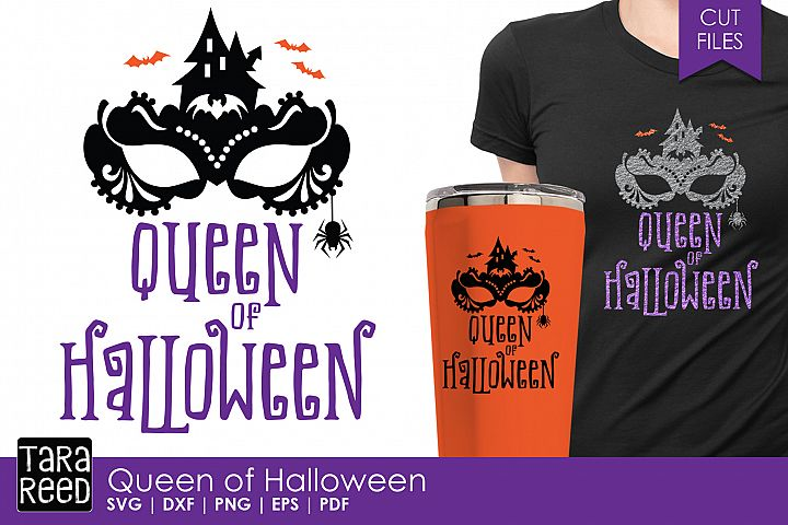 Queen of Halloween - Halloween SVG & Cut Files for Crafters