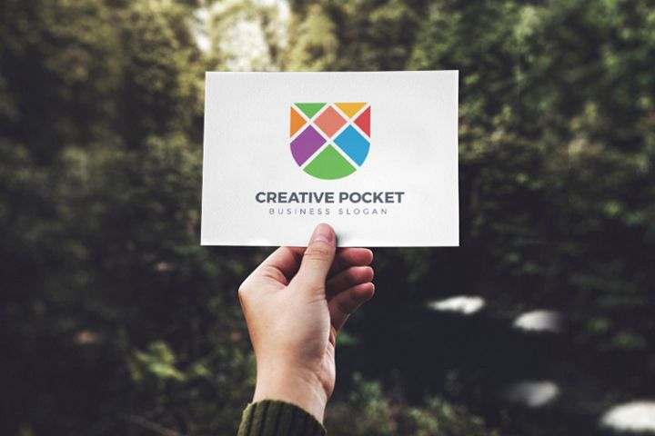 Creative Pocket Logo Template