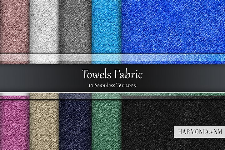 Towels Fabric 10 Seamless Textures