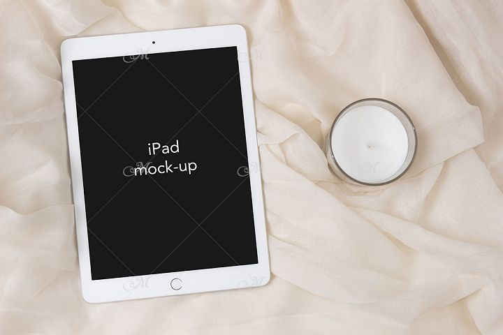 iPad Mock-up, PSD & JPEG, Smart object