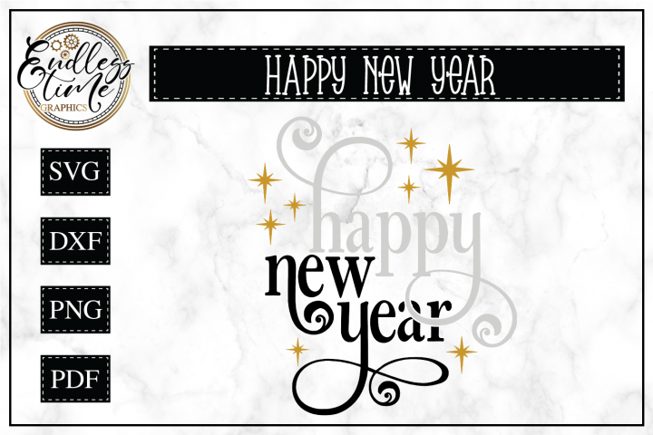 Happy New Year- A Beautiful New Year Design