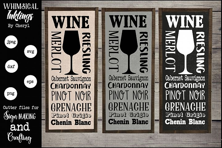 Wine Subway Art SVG