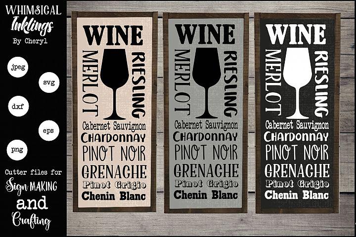 Wine Subway Art SVG