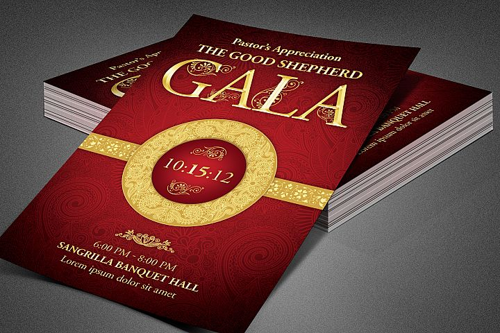 Pastors Appreciation Gala Flyer