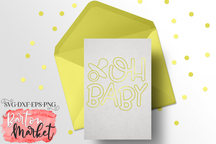 Oh Baby - A Foil Quill Inspired File
