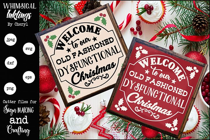Dysfuntional Christmas SVG