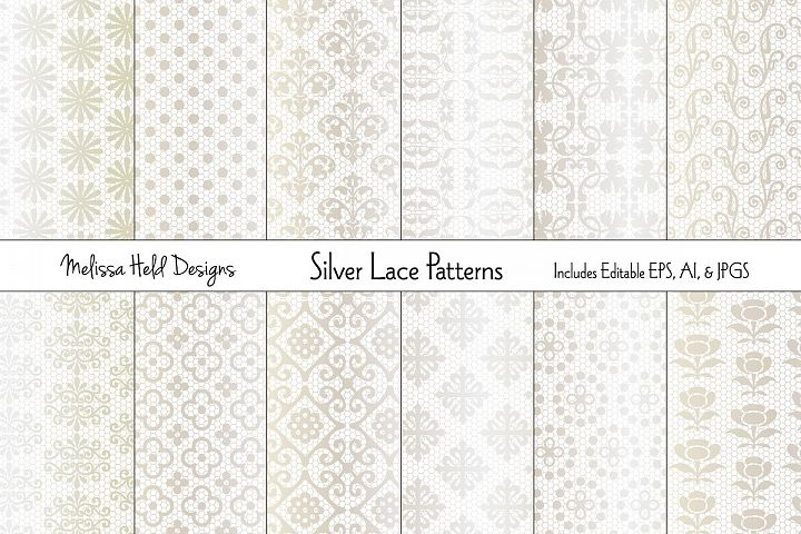 Silver Lace Patterns
