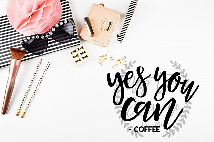 Yes You Can Coffee SVG